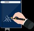تقديم الاستشارات القانونية الكتابية أو الشفوية في شأن قانوني أو قضائي